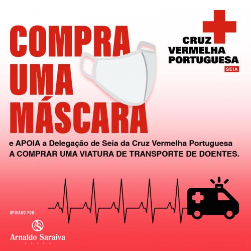 Arnaldo Saraiva solidária com a Delegação de Seia da Cruz vermelha Portuguesa